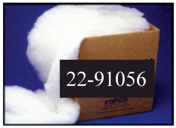 100% siliconized polyester loose fiber