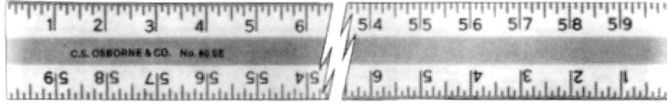 Aluminum Straight Edge Ruler