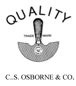 C S Osborne & Co. Logo
