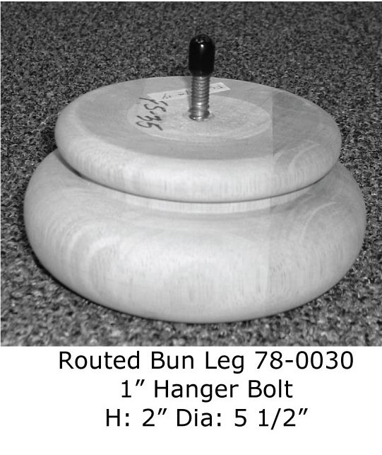 Routed Bun Leg