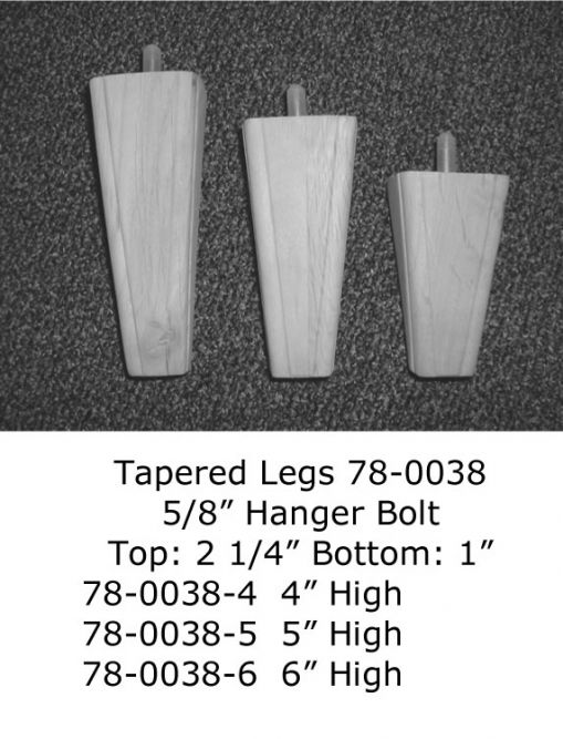 Tapered Legs