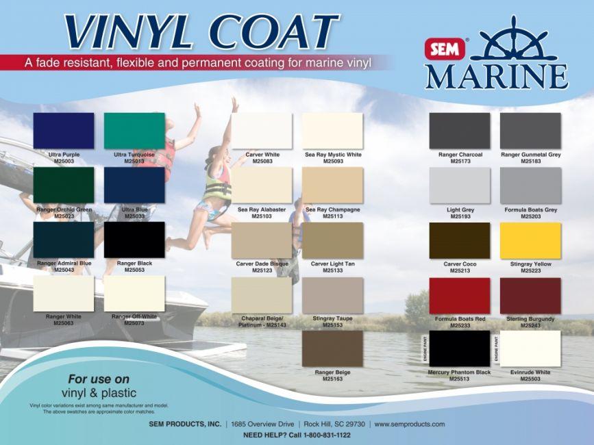Sem Marine Vinyl Coat